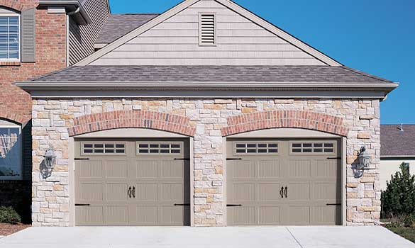 Garage Doors Aside Image